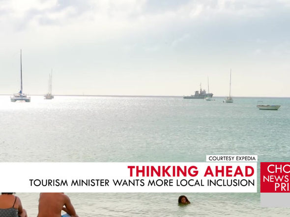 TOURISM MINISTER WANTS MORE LOCAL INCLUSION