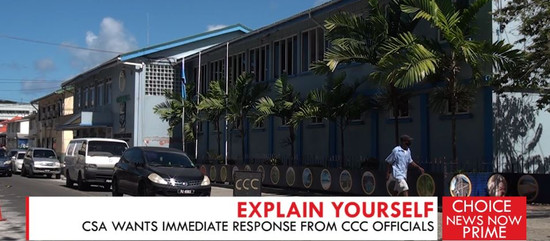 CSA WANTS IMMEDIATE RESPONSE FROM CCC OFFICIALS