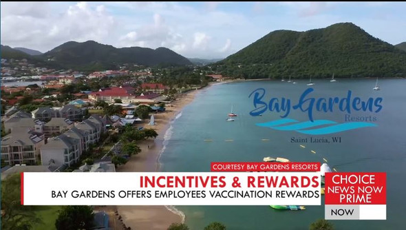 BAY GARDENS OFFERS EMPLOYEES VACCINATION REWARDS