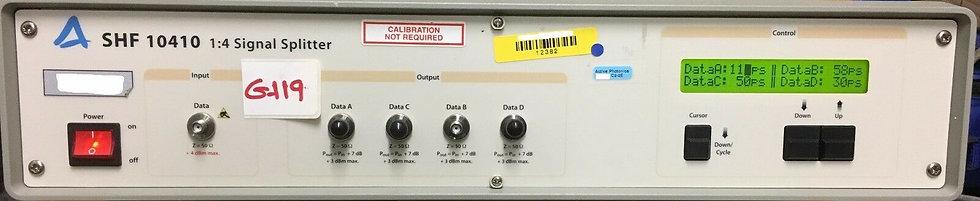 SHF 10410 1:4 Signal Splitter for 40Gb/s