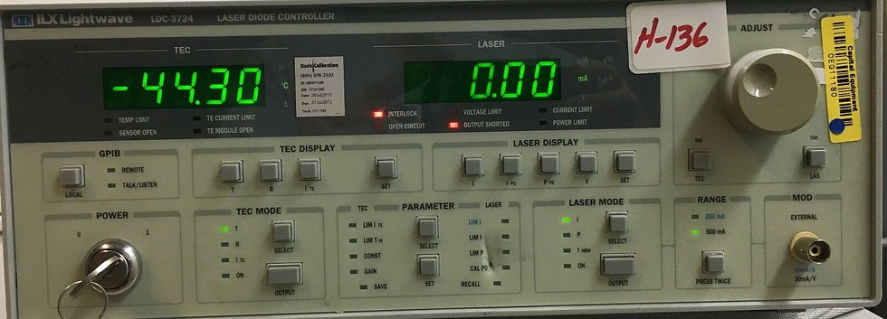 ILX Lightwave LDC3724 Laser Diode Controller