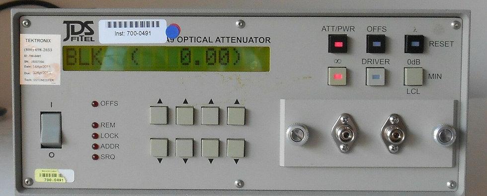 JDS Uniphase  JDSU HA9  / HA1 Programmable Attenuator