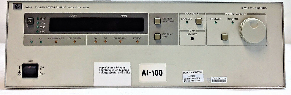 HP 6030A System Power Supply