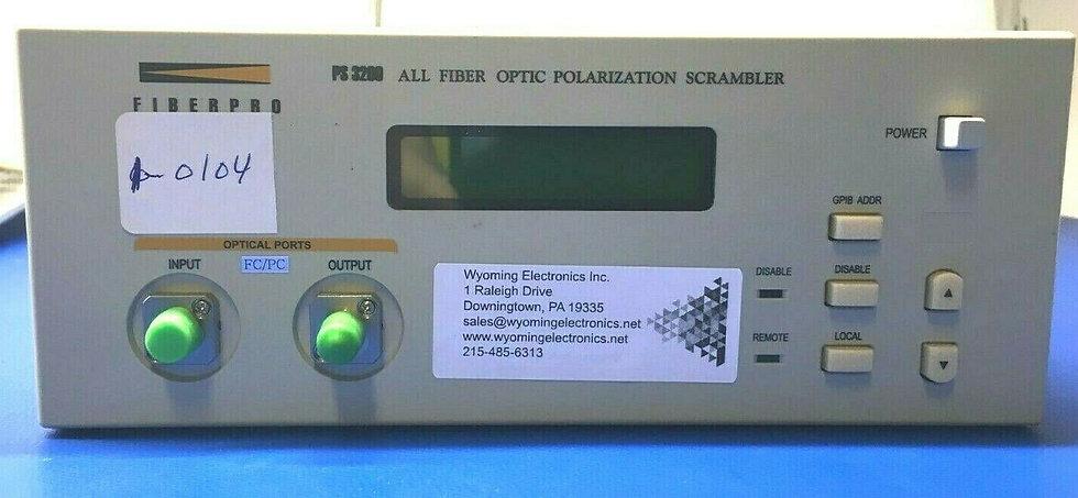 Fiberpro PS3200 All Fiber Optic Polarization Scrambler