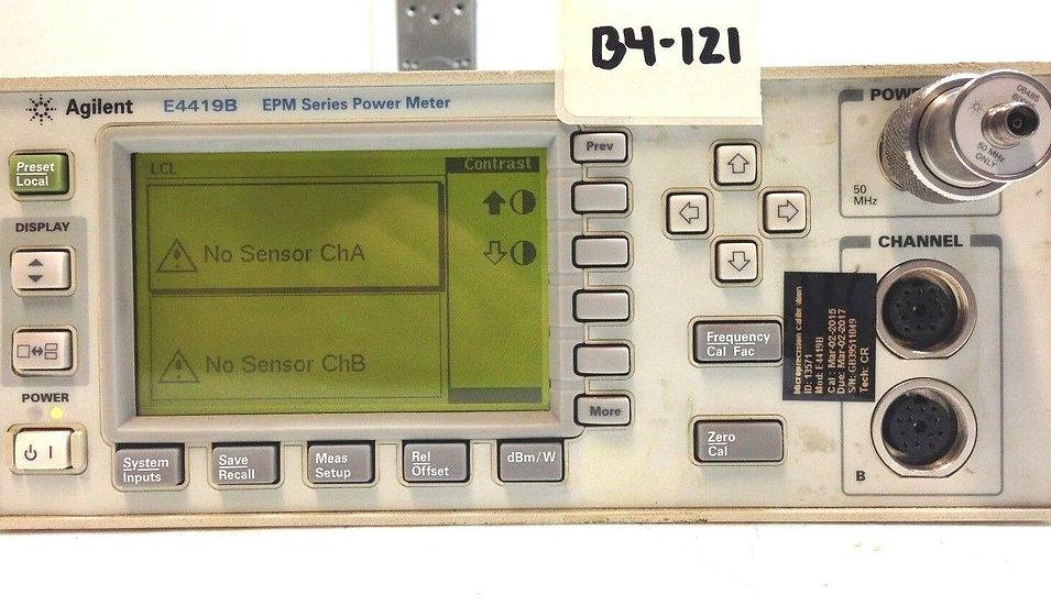 Agilent E4419B EPM Series Dual-Channel Power Meter