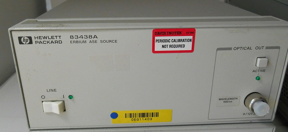 Agilent 83438A ERBIUM ASE Source ANGLED Contact Output 1550nm