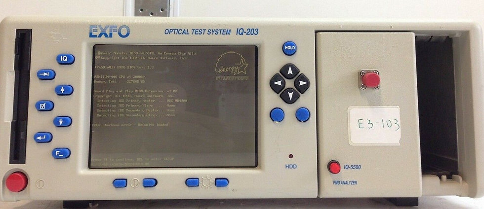 EXFO IQ-203 Optical Test System W/ IQ-5500