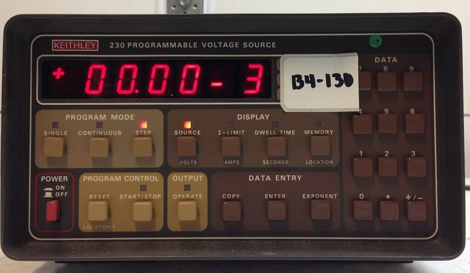 Keithley 230 Programmable Voltage Source As Is W No Return