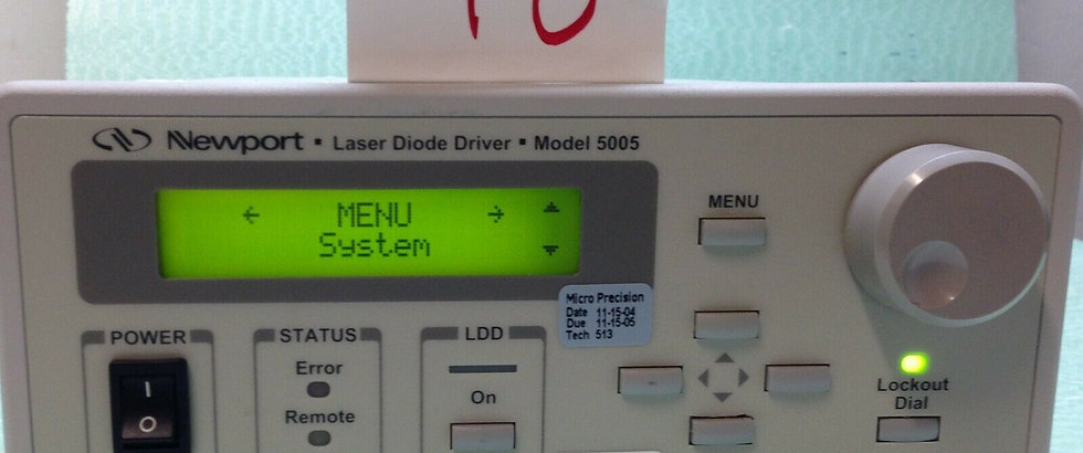 Newport Laser Diode Driver, Model 5005