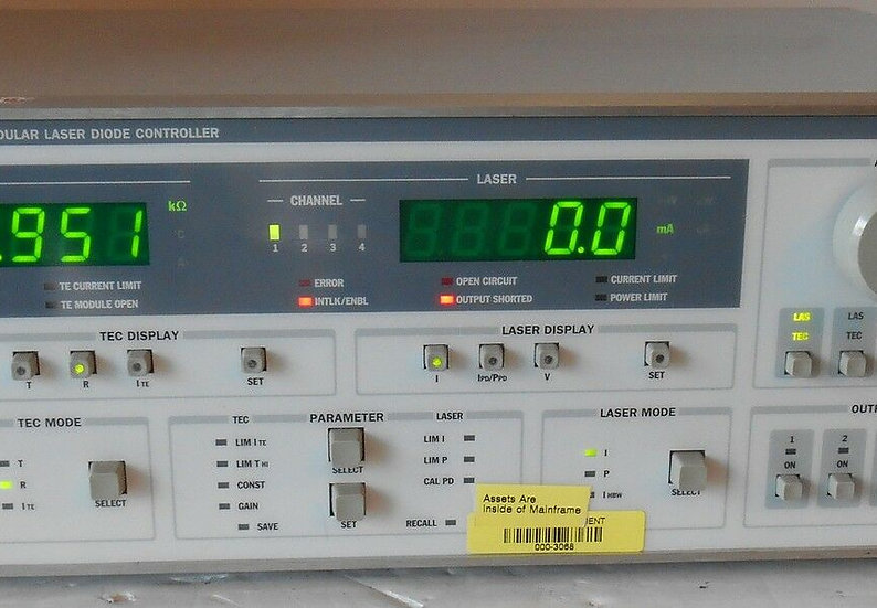 ILX Lightwave LDC-3900 Modular Laser Diode Controller