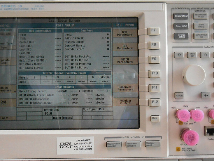 Agilent 8960 Srs 10 E5515C Wireless Communications Test Set  w options
