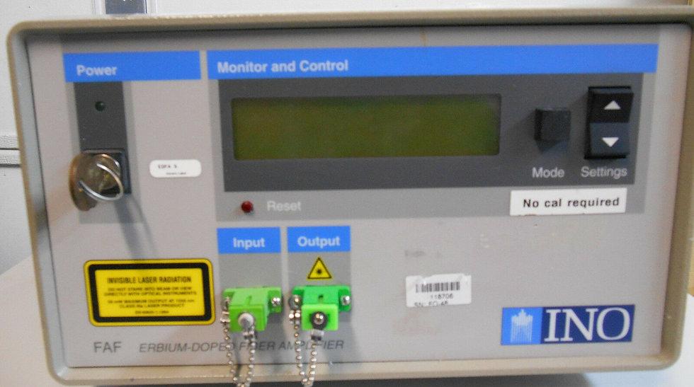 INO FAF-50 Benchtop Erbium-Doped Fiber Amplifier