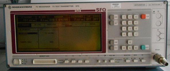 Rohde & Schwarz SFQ Tester w 20725501.20