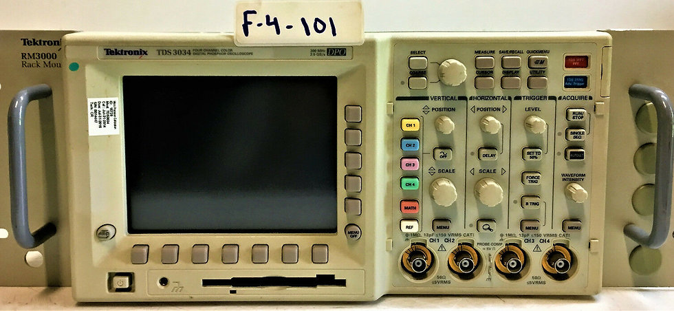Tektronix TDS 3034 with option TDS3FFT TRF