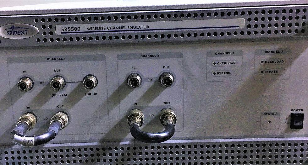 Spirent SR5500 Wireless Emulator, # WCE281J3, Option AWGN