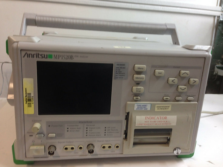 Anritsu MP1520B PDH Analyzer w options