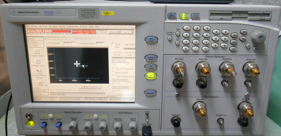 Agilent N4906A Serial BERT 3.6 Gb/s CFG001  12 Gb/s