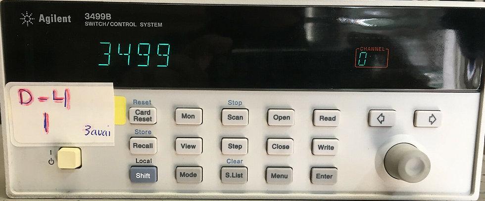 Agilent / HP 3499B 2 Slot-Control  Switch-Mainframe