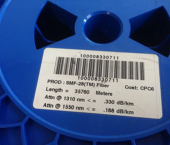 Corning Single Mode fiber SMF-28 Optical Bare Fiber 35000 m  / 35km