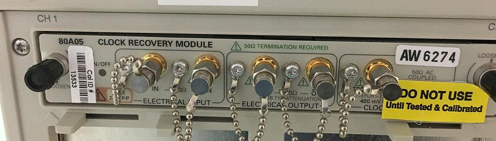 Tektronix 80A05 Clock Recovery Module