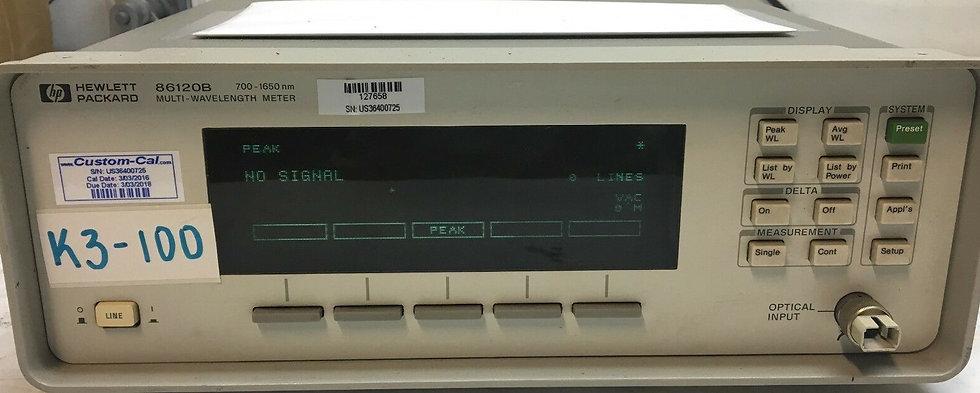 HP-Agilent-86120B-700-1650 nm Multi-Wavelength-Meter New Laser