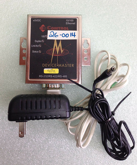 COMTROL DEVICE MASTER RTS 1-PORT RS-232/RS-422/RS-485