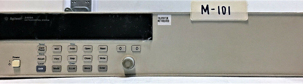 Agilent 3499A Switch control System Model 44474A