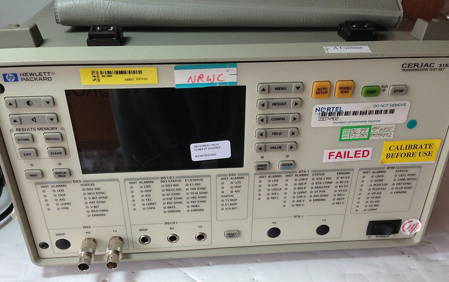 Agilent HP Cerjac 31XE Transmission Test Set