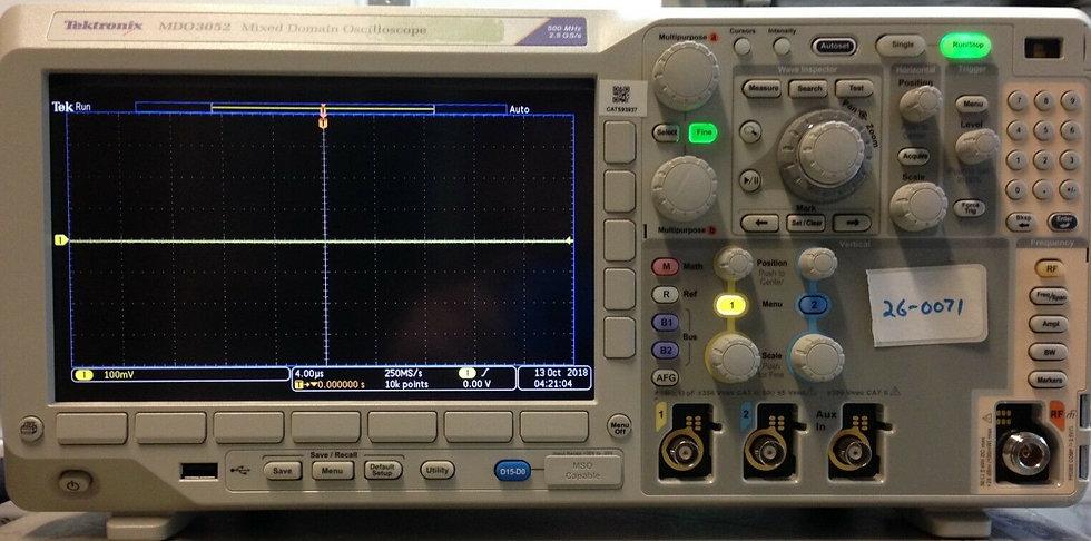 Tektronix MSO3052 Digital Phosphor Oscilloscope 500MHz