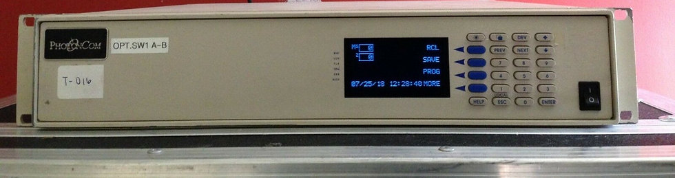 Photoncom Option Switch A-B 2(1x4) Model PS2U2C1X4C
