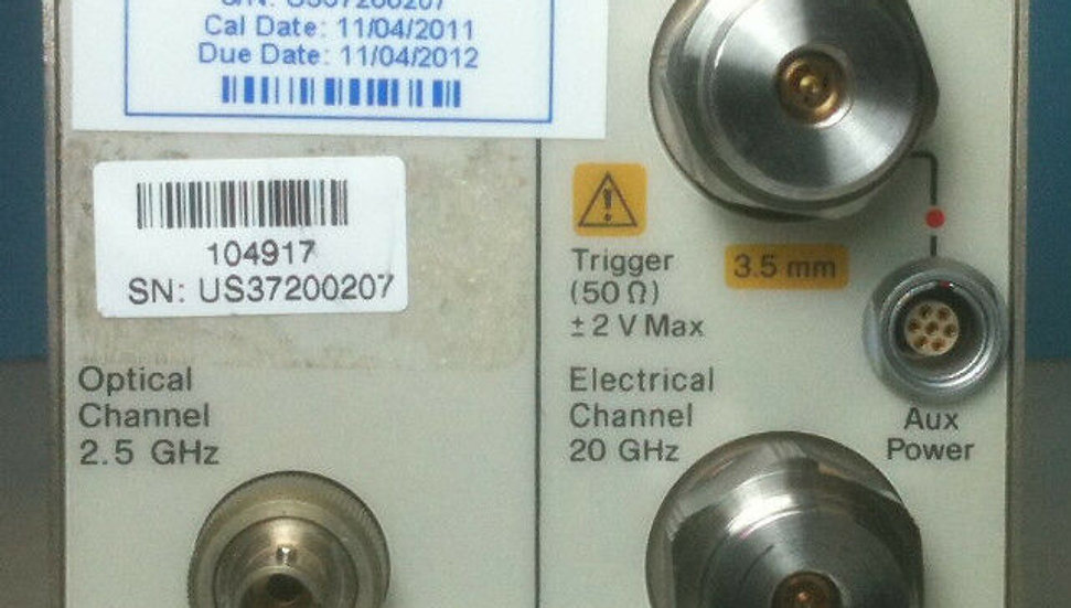 Hewlett - Packard 83487A With Opt 041 Dual Rate Optical Electric
