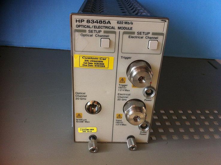 Agilent/ HP  83485A  w 012,032 Optical Plug In Module for 86100A