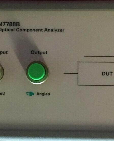 Keysight / Agilent N7788B Optical Component Analyzer w/ Opts 022/032/400 w/Cal.