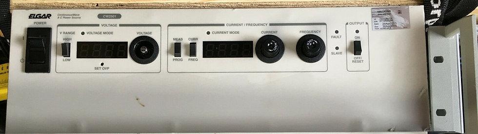 Elgar CW2501M  Continuos Wave AC Power Source