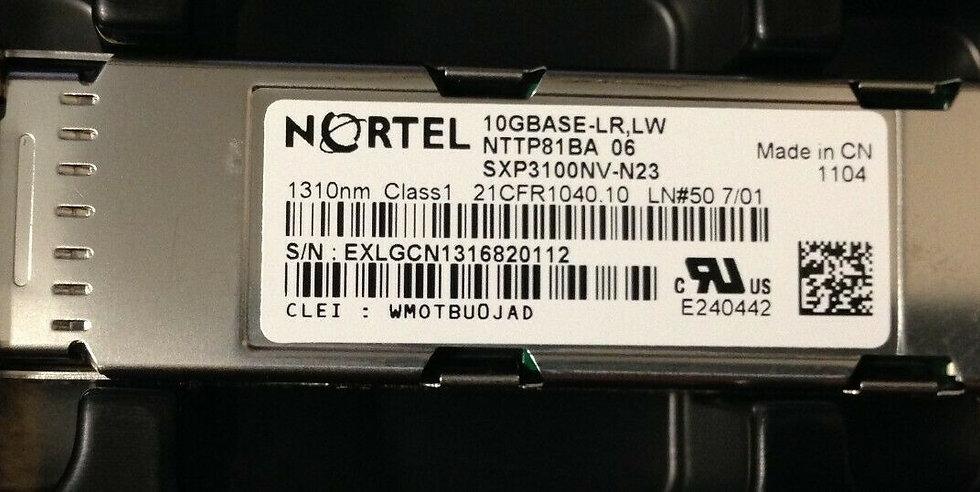 NORTEL NTTP81BA 06 10GBASE-LR,LW 1310nm