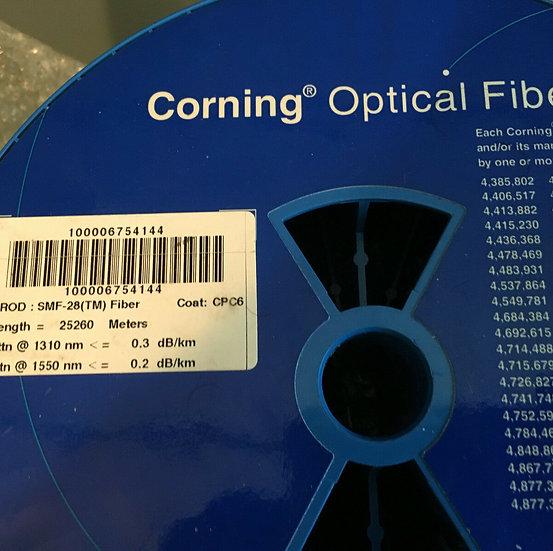 Single Mode fiber SMF-28 Optical Bare Fiber 25000 m  / 25km