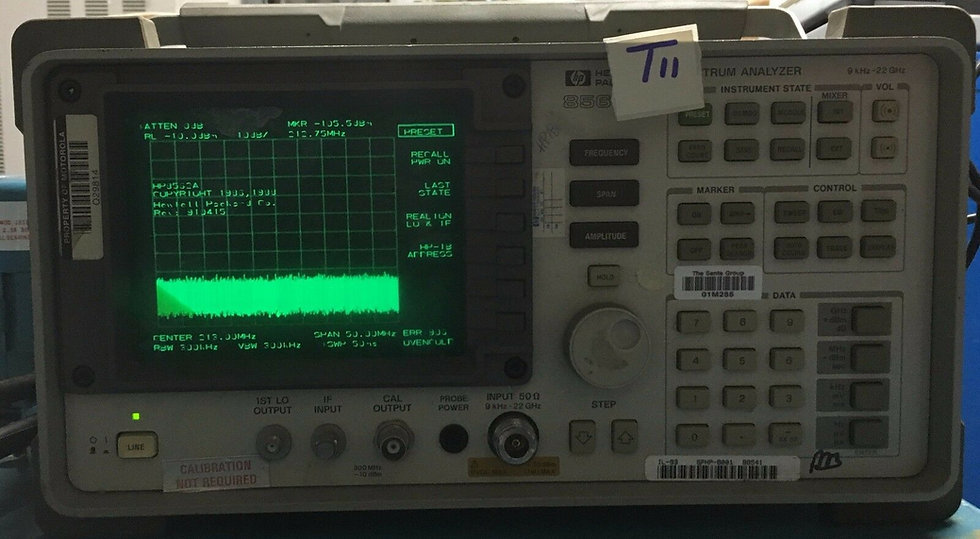 HP/Agilent 8562A 9 kHz 22 GHz spectrum analyzer opt 003