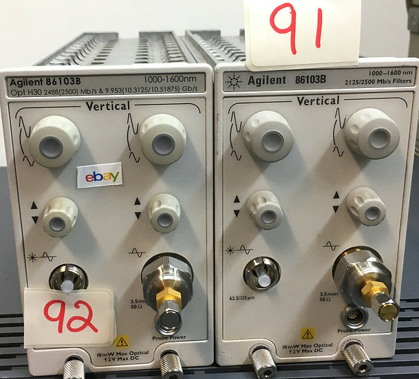 Agilent 86103B Module Opt H30  for 86100A
