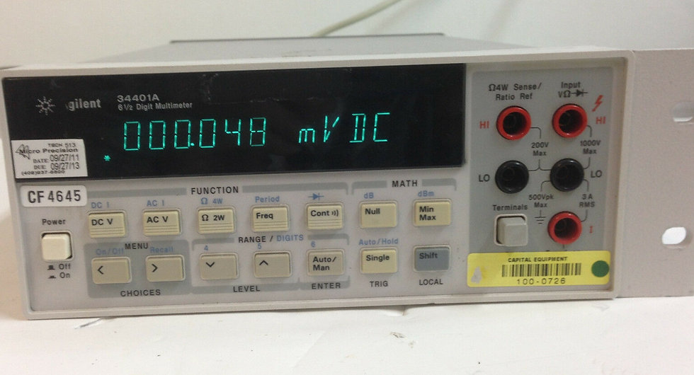 Agilent HP 34401A digital multimeter