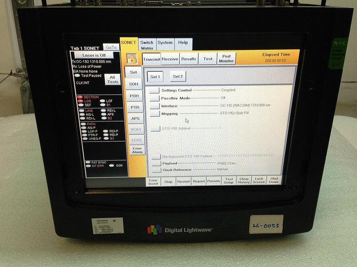Digital Lightwave NIC PLUS NL81 PORTABLE NETWORK INFORMATION