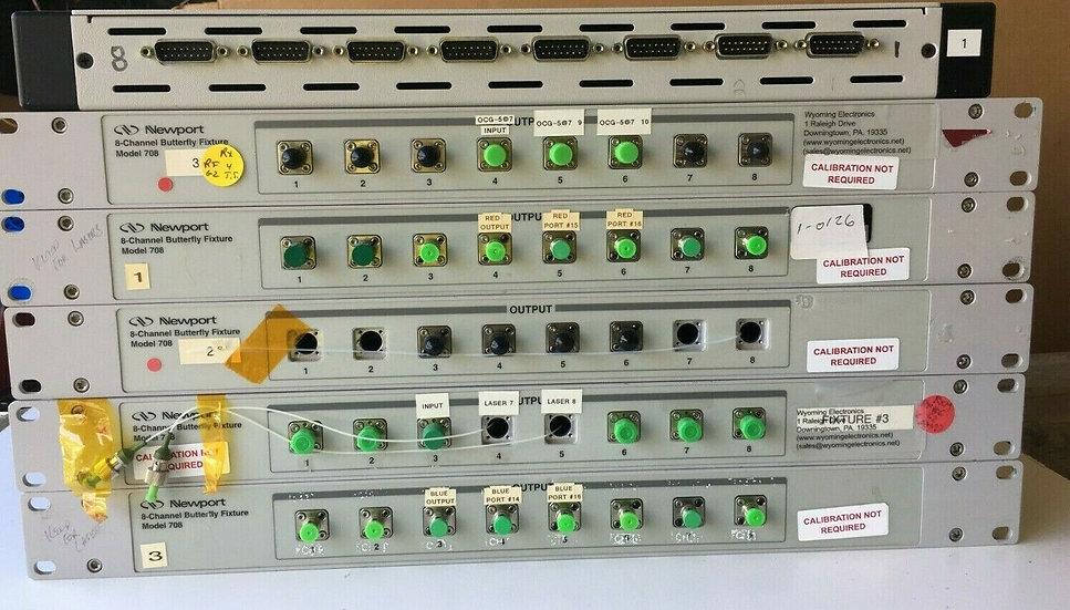 Newport 708 8-Channel Butterfly Laser Diode Mount (1 module)