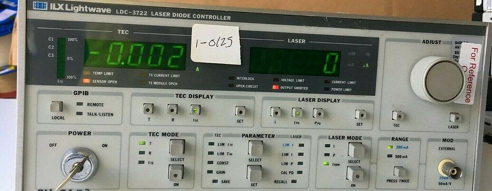 ILX Lightwave LDC-3722 Laser Diode Controller