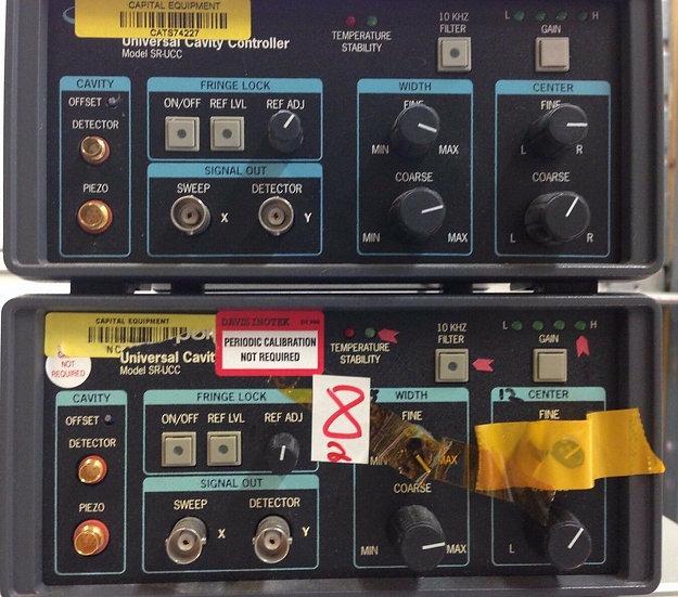 Newport SR-UCC universal cavity controller