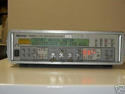 TEKTRONIX ST2400 SDH/SONET SET  WITH OPTION
