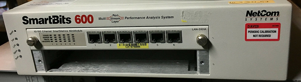 Spirent Smart SMB600 With 1 X LAN-3101A System