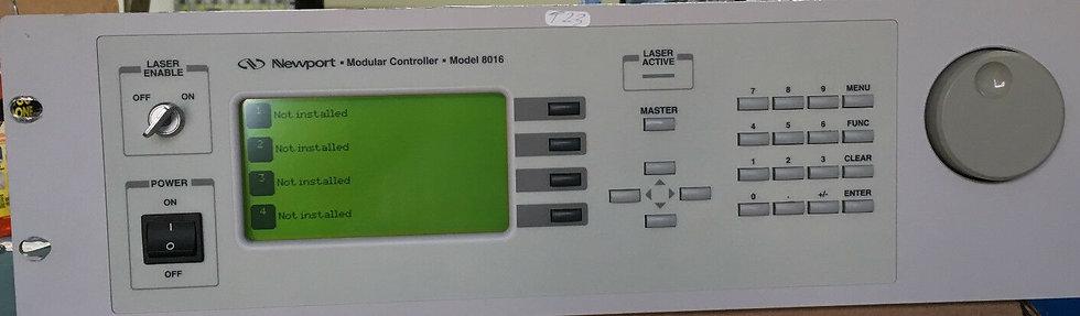 Newport 8016 Modular Controller mainframe
