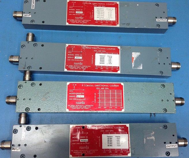 Narda Coaxial Directional Coupler 3000-10 225 - 460 Ghz.