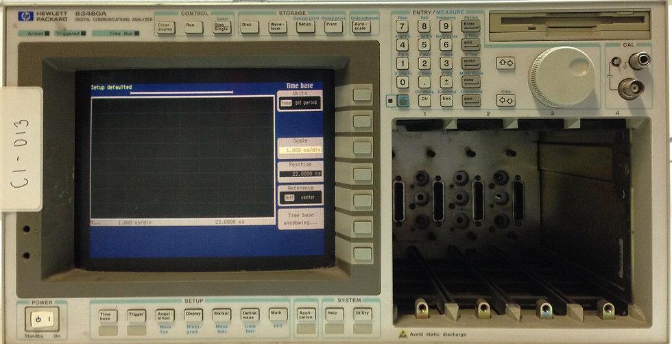 HP / Agilent 83480A Digital Communications Analyzer
