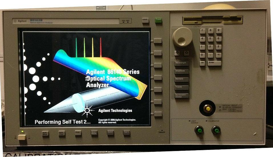 Agilent 86142B Optical Spectrum Analyzer (OSA) w/opt 002, 006
