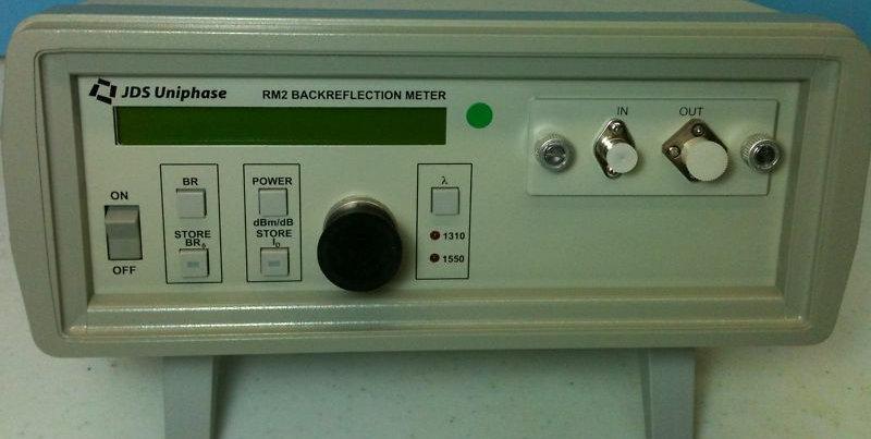 JDS Uniphase RM2 Backreflection Meter RM2050B 1310/1550